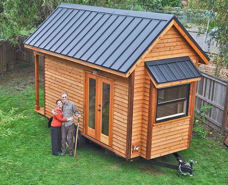 177 migliori immagini tiny houses su pinterest case for Idee minuscole