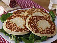 PANCAKE SALATI ricetta base facile