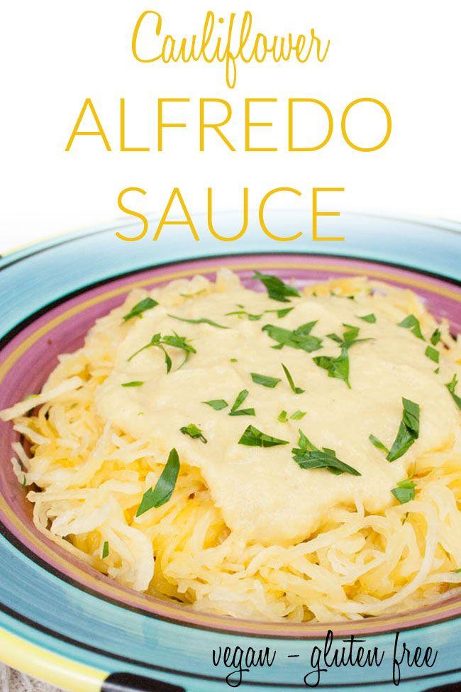 Cauliflower Alfredo Sauce Vegan Gluten Free Keto This Low Carb Vegan Alfredo Sauce Ha Vegan Lunch Recipes Low Carb Breakfast Recipes Vegan Dinner Recipes