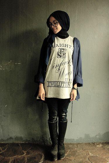 Street Style Hijab Looks