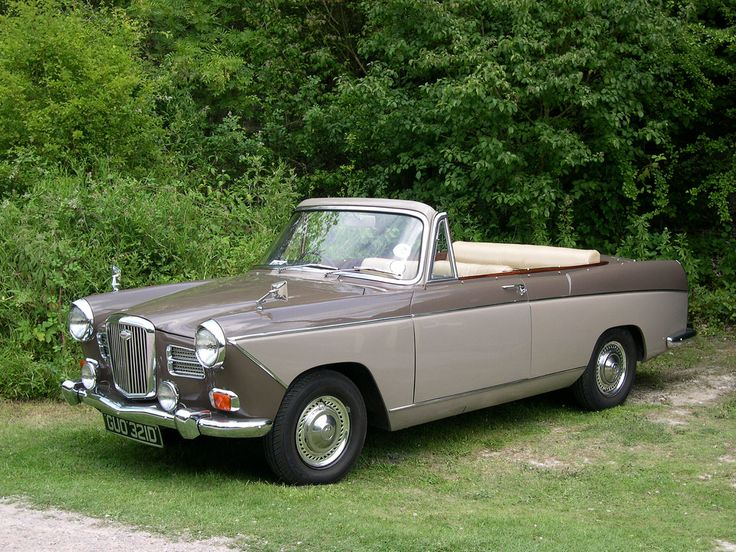 1966 Wolseley 16-60 Convertible