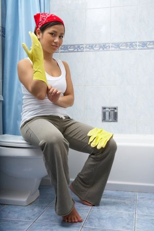 cleaning shower drainthe bathroom smells like a dead rat you know itu0027s