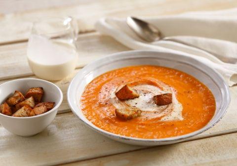 Soupe de potiron et carottes