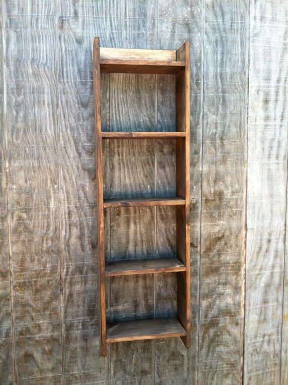 Hanging shelf Wooden towel Shelf Stand by RaysCust…
