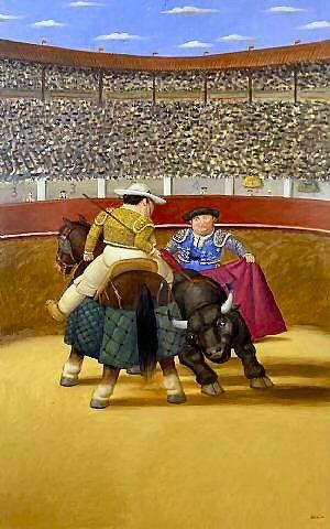 by Fernando Botero (Colombian b.1932)