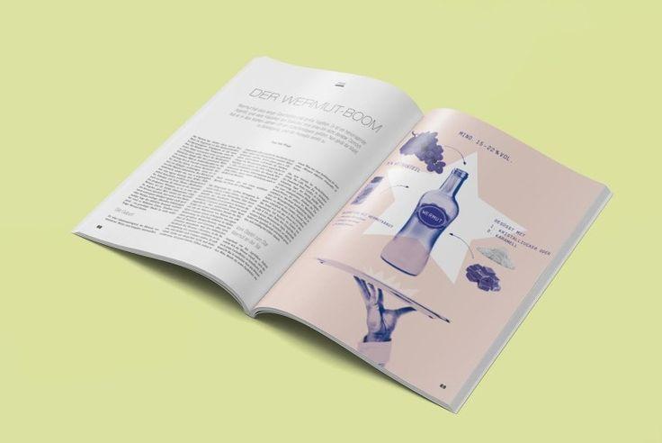 rivista editoriale design Mixology