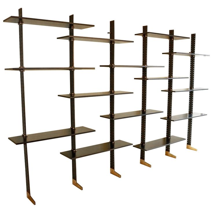 "Grande Bibliothèque Etagère ""LB2""by Ignazio Gardella, Misura Emme Edition ca.1955 