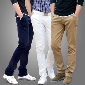 Купить молодежные мужские брюки