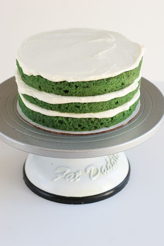 Green Velvet Cake with Jameson Irish Whiskey Recipe