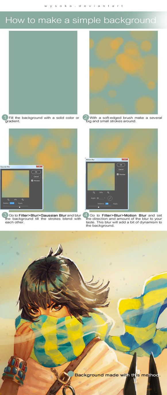 How To Make Simple Background By Wysoka On Deviantart Simple Backgrounds Background Background Drawing