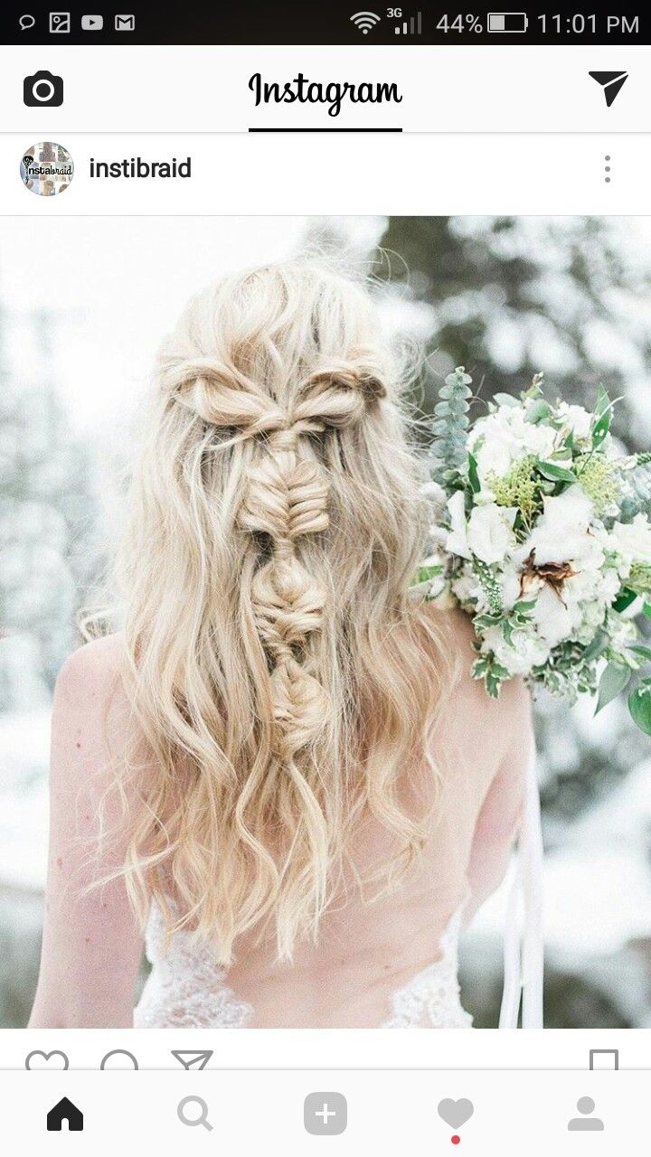 8 best Long hairstyles images on Pinterest | Plaits, Bridal hair and ...