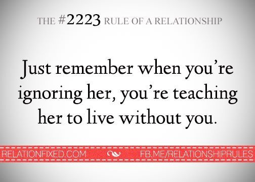 the 2 rule of a relationship
