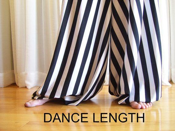 Pantaloons harem pants  striped  YOUR SIZE par creaturre sur Etsy, $60,00