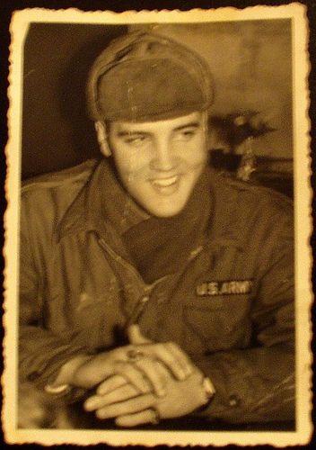 Elvis Presley In The Army | Elvis Presley army 1959-Elvis Presley Photo Gallery, Pictures, images ...
