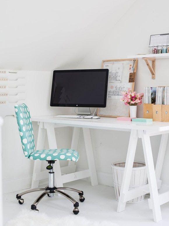 17 beste idee n over wit kantoor op pinterest gouden kantoor kantoor aan huis organisatie en - Kamer en kantoor ...