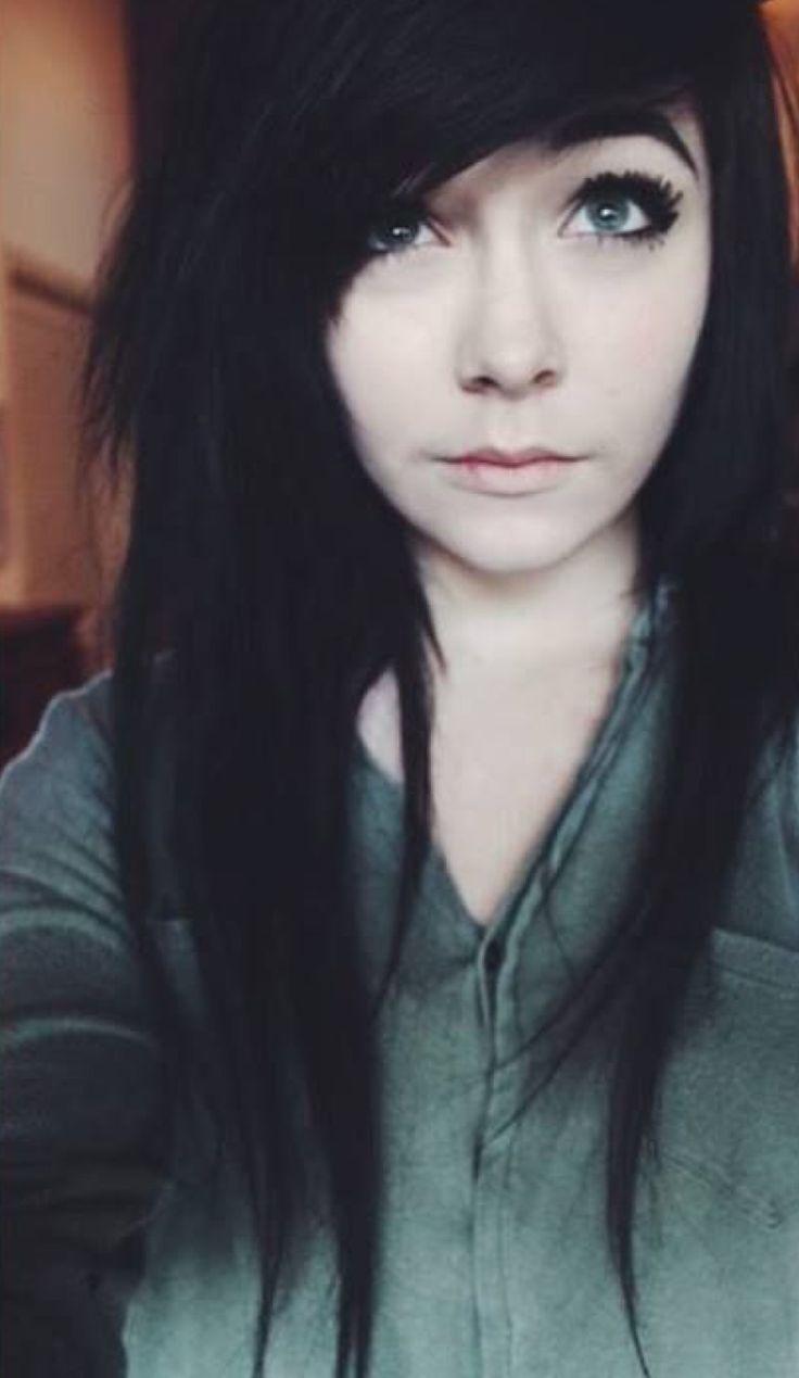 698a8fa5a ... Emo Maquillaje Escena Cabello Y Maquillaje Peinados. 8 mejores imágenes  de Me P en Pinterest
