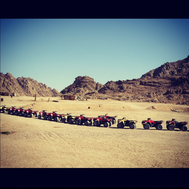 Sharm el Sheik, Egypt sand buggys