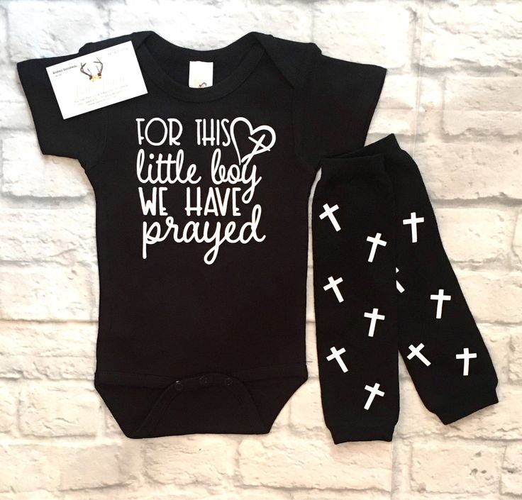A personal favorite from my Etsy shop https://www.etsy.com/listing/526441046/baby-boy-clothes-for-this-little-boy-we
