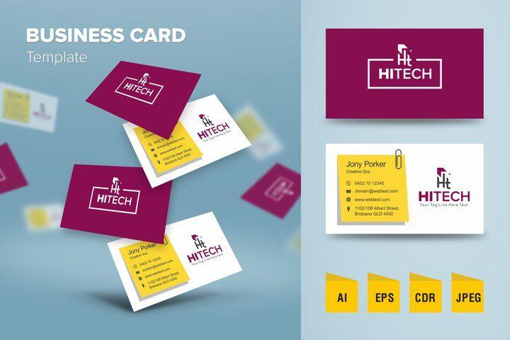 Elegant Business Card Design Template 1045479 Business Cards Design Bundles In 2021 Business Card Template Design Elegant Business Cards Design Business Card Design