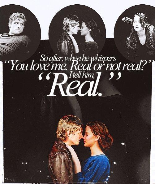 Mockingjay<3 real.REAL.real. I want my own Peeta <3