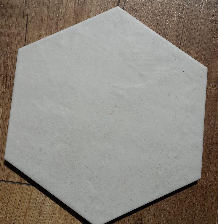 Equipe - Hexatile Cement White 17,5x20