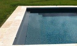 Liner grain gris anthracite piscine pinterest for Liner piscine en rouleau