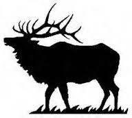 Image result for elk silhouette vector