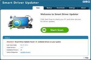 Smart Driver Updater est un programme publicitaire conçu par les pirates informatiques pour faire de l'argent.