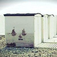 Chic Le Havre Beach Huts