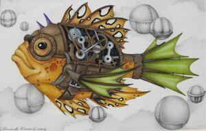 Steampunk Fish | Annette Renee | dragonmar.com