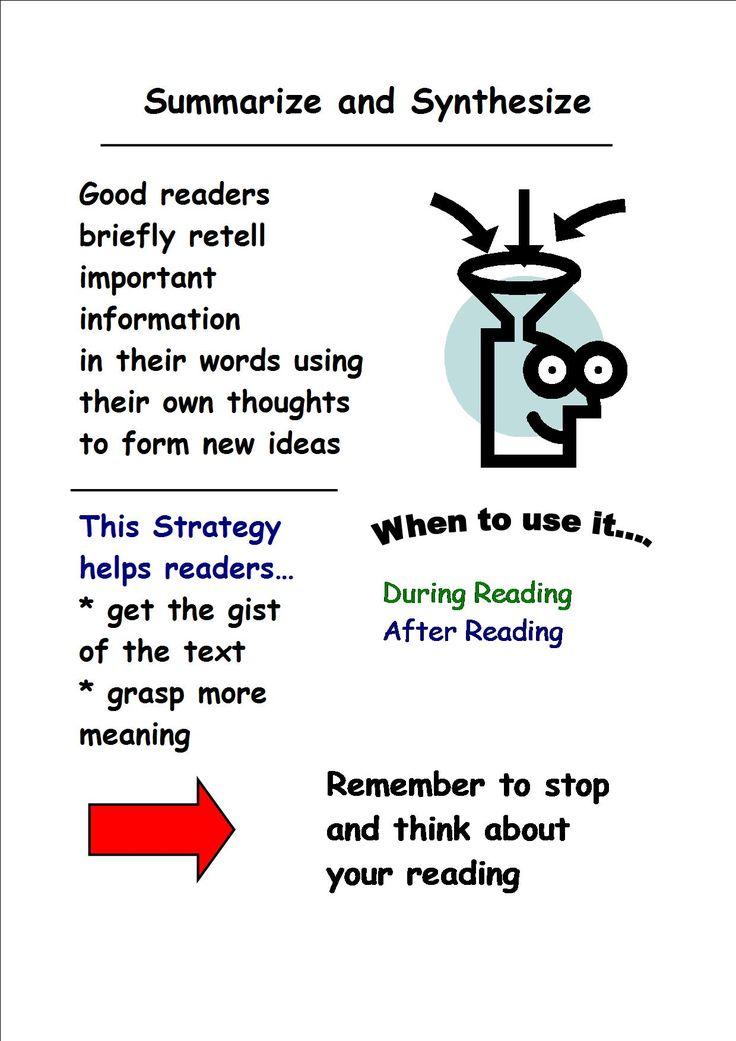 how to teach children to summarize