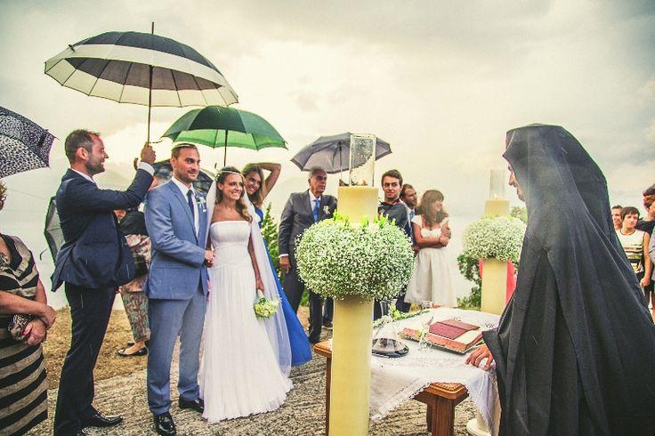Rainy day - happy people  - wonderful wedding!!!  #wedding #day #mythosweddings #kefalonia