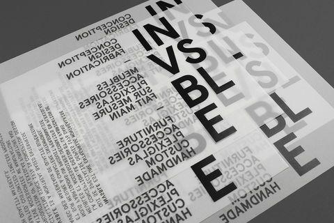 Emanuel Cohen - Invsble / Design . Objet . Identité / étapes: design & culture visuelle