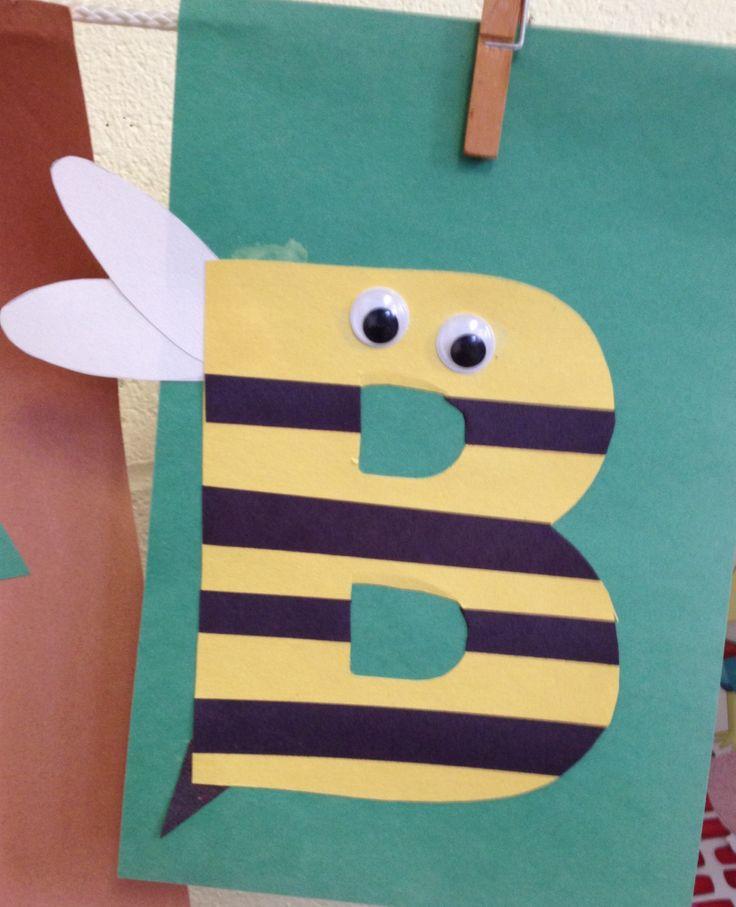27 Best Preschool Letter Crafts Images On Pinterest