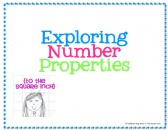 Number Properties Pack product from To-The-Square-Inch on TeachersNotebook.com