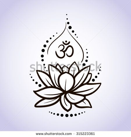 yoga water lily tattoo - Google Search