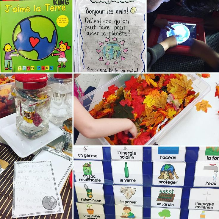 """40 Likes, 1 Comments - Laura King (@kindergartenteachertired) on Instagram: """"Happy Earth Day! 🌎💚 Earth day learning in Room 112 this week: 1. """"J'aime la terre"""" by Todd Parr…"""""""