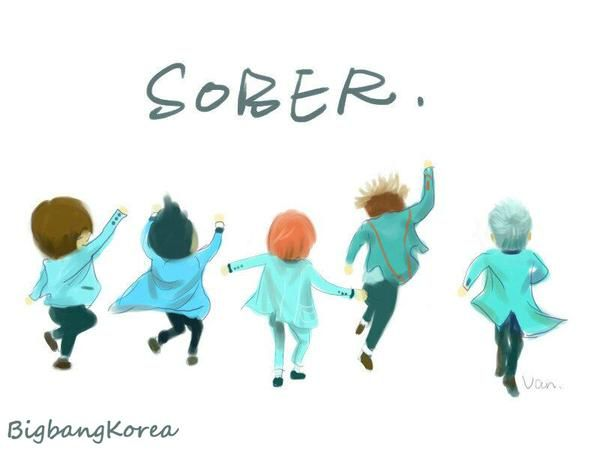 BIGBANG #Fanart #Sober