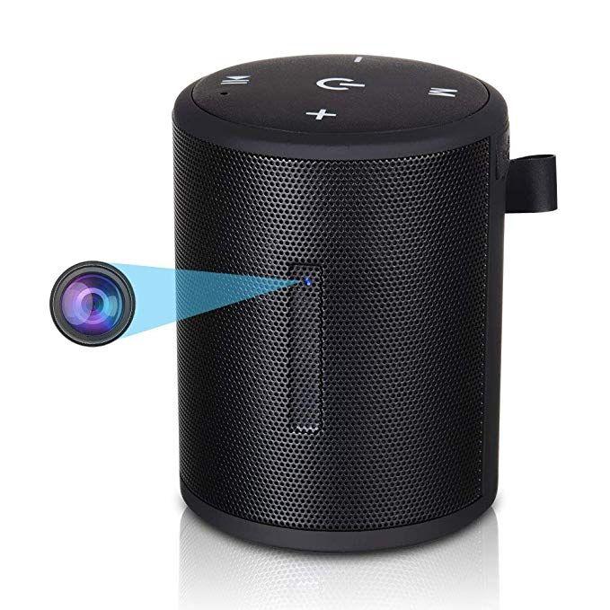 Wifi HD SPY Hidden Camera Speaker Video Recorder Nanny Cam Mini 1080P