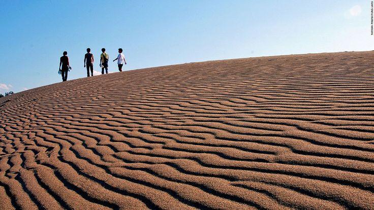 16-paysages-magnifiques-japon Le désert de dunes de Tottori-sakyu