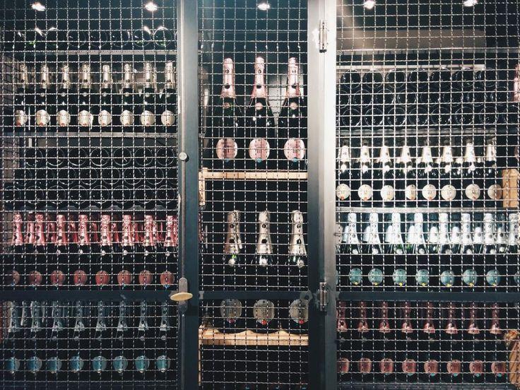 """Berlucchi Franciacorta cellars at wine bar """"Le Bollicine del Duomo"""", in Mercato del Duomo, Milan, Italy. #BerlucchiMood"""