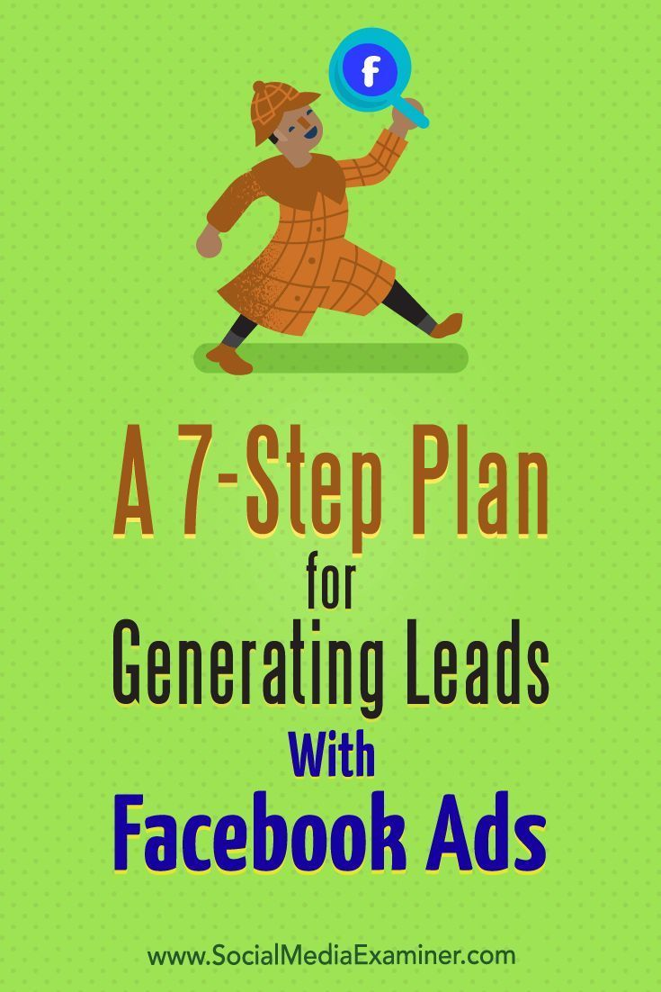 Facebook ads are a great way to build a database of people who are interested in what you offer, because the reach and targeting options are exceptional.