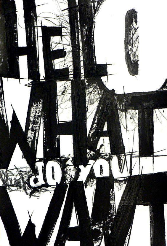 Maya Berthou For Experimental Typography at LCC www.typetasting.com: