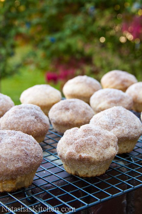 French Breakfast Muffins -- think cinnamon french toast