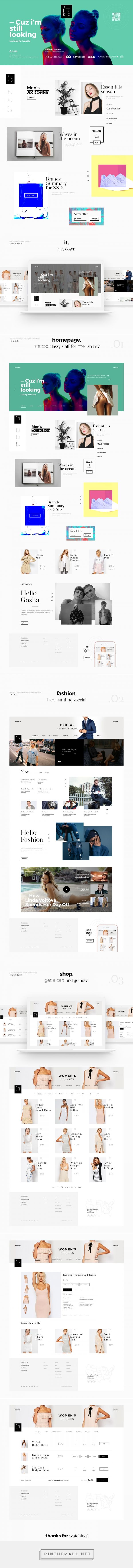 ABCD / Fashion Concept on Behance - created via https://pinthemall.net