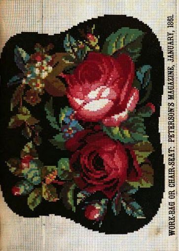 The Victorian Needle: Kristen: Berlin Woolwork