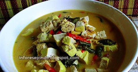 Resep Sayur Tempe Santan Kuah Pedas/Resep Masakan Indonesia