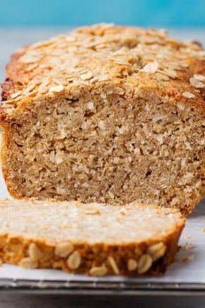 Este pan es saludable, bajo en carbohidratos, salado y lleno   – low carb