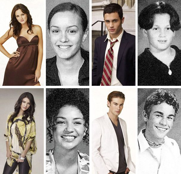 Gossip Girl Cast Yearbook Photos