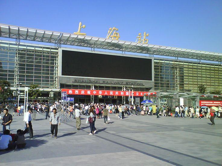 Shanghai Train Station, 2009